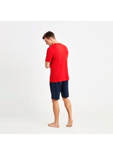 Nautica M110SORTTK.KIR Nautıca Erkek Kırmızı Pijama Takımı Kırmızı